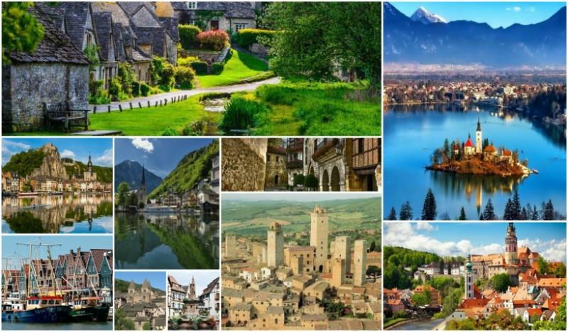 25 Pueblos de ensueño que querrás visitar en Europa